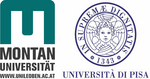 Logo Montanuniversität Leoben and University of Pisa