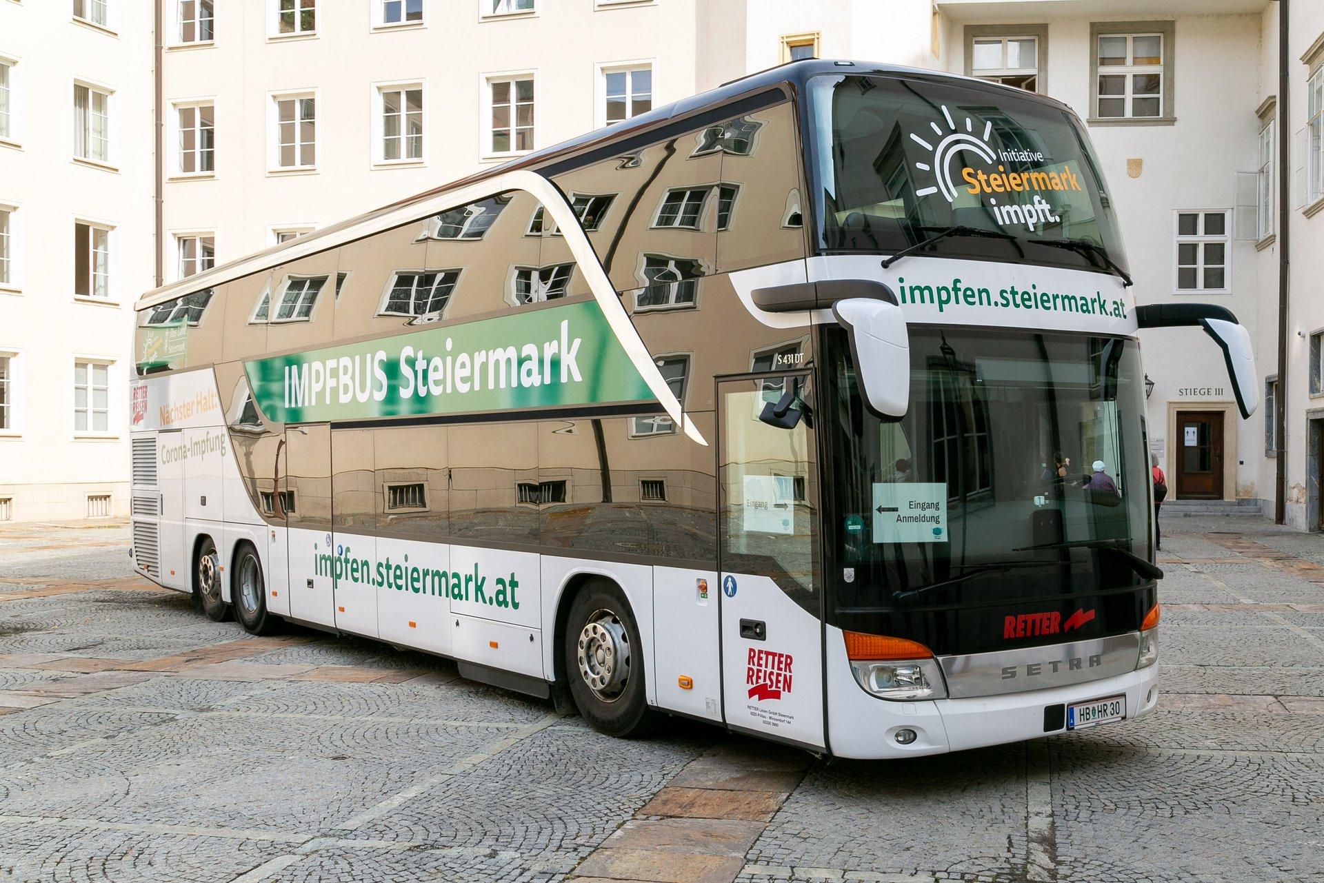 Impfbus Steiermark (© Land Steiermark)